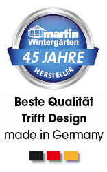 45 Jahre Wintergärten Made in Germany