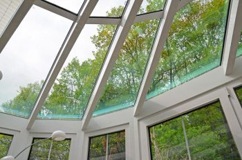 Dachkonstruktion Alu-Wintergarten