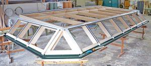Dachmontage für Wintergarten Modell Hawaii