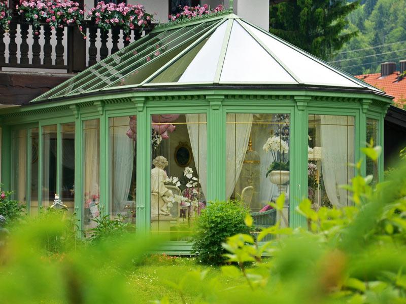Englisch-viktorianischer Wintergarten