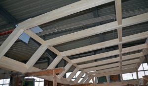 Holz-Konstruktion für Wintergarten Modell Hawaii