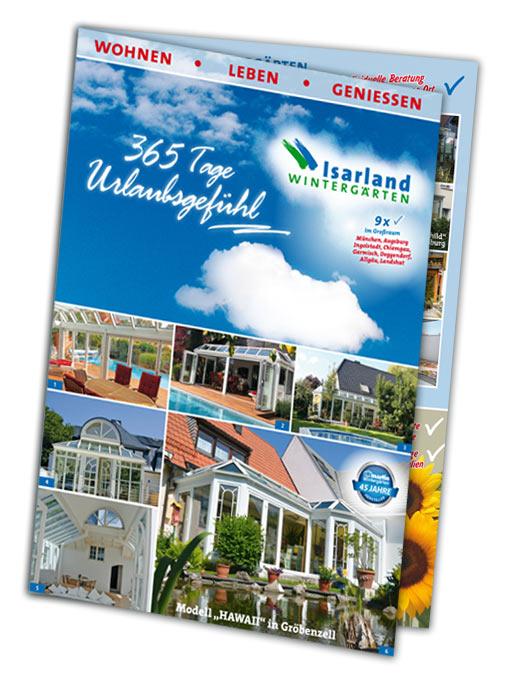 Isarland Wintergärten Prospekt