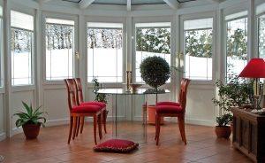 Viktorianischer Wintergarten Modell Rhodos, Innenansicht