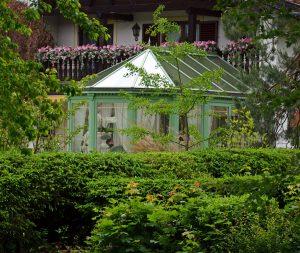Viktorianischer Wintergarten am Tergernsee