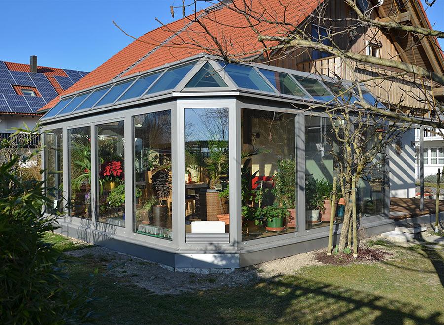 """Wintergarten-Modell """"Hawaii"""". Einfamilienhaus in Dingolfing"""