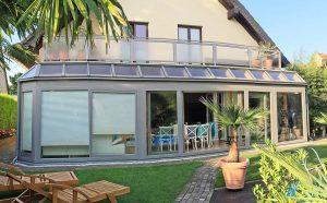 "Wintergarten Modell ""Hawaii mit Balkon"