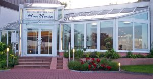 Wintergarten im Hotel-Restaurant Haus Monika