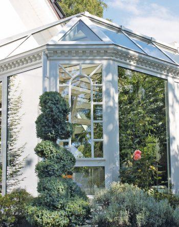 Wintergarten im viktorianischen Stil