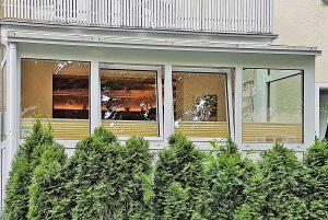 Wintergarten im Hotel Kriemhild München-Nymphenburg